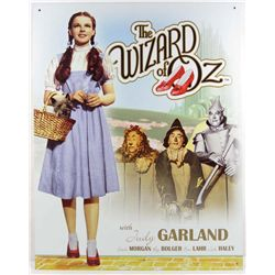 7477 - THE WIZARD OF OZ  METAL SIGN - 12..5x16""