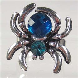 8386 - GEMSTONE SPIDER RING