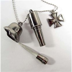 8528 - GERMAN MASTER CUTLERY FANTASY MASTER GRENADE NECKLACE KNIFE