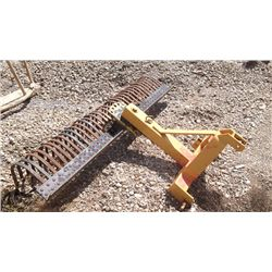 3 point hitch yard rake
