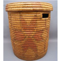 JICARILLA BASKETRY CYLINDER