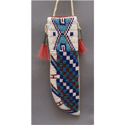 PLAINS BEADED KNIFE SHEATH