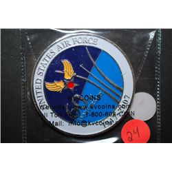 1947-2007 United States Air Force 60th Anniversary Military Medal; One Team One Mission; EST. $5-10