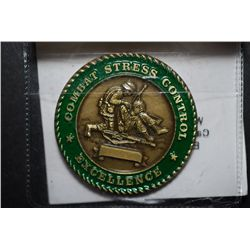 Combat Stress Control Excellence Military Medal; EST. $5-10