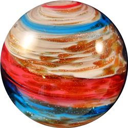 Marbles - Contemporary Handmade Glass: George Pavliscak, Jovian, 1-3/16 9.9