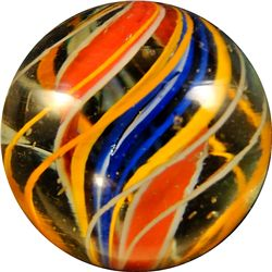 "Marbles - Swirl: Divided Core, 1-3/16"" 8.9"