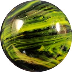 "Marbles - Christensen Agate Company: Striped Opaque 19/32"" 9.9"