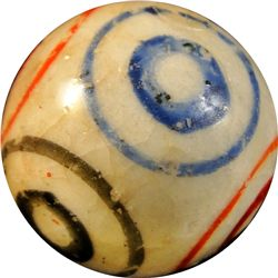"Marbles - China: Bullseye, 5/8"" 9.9"