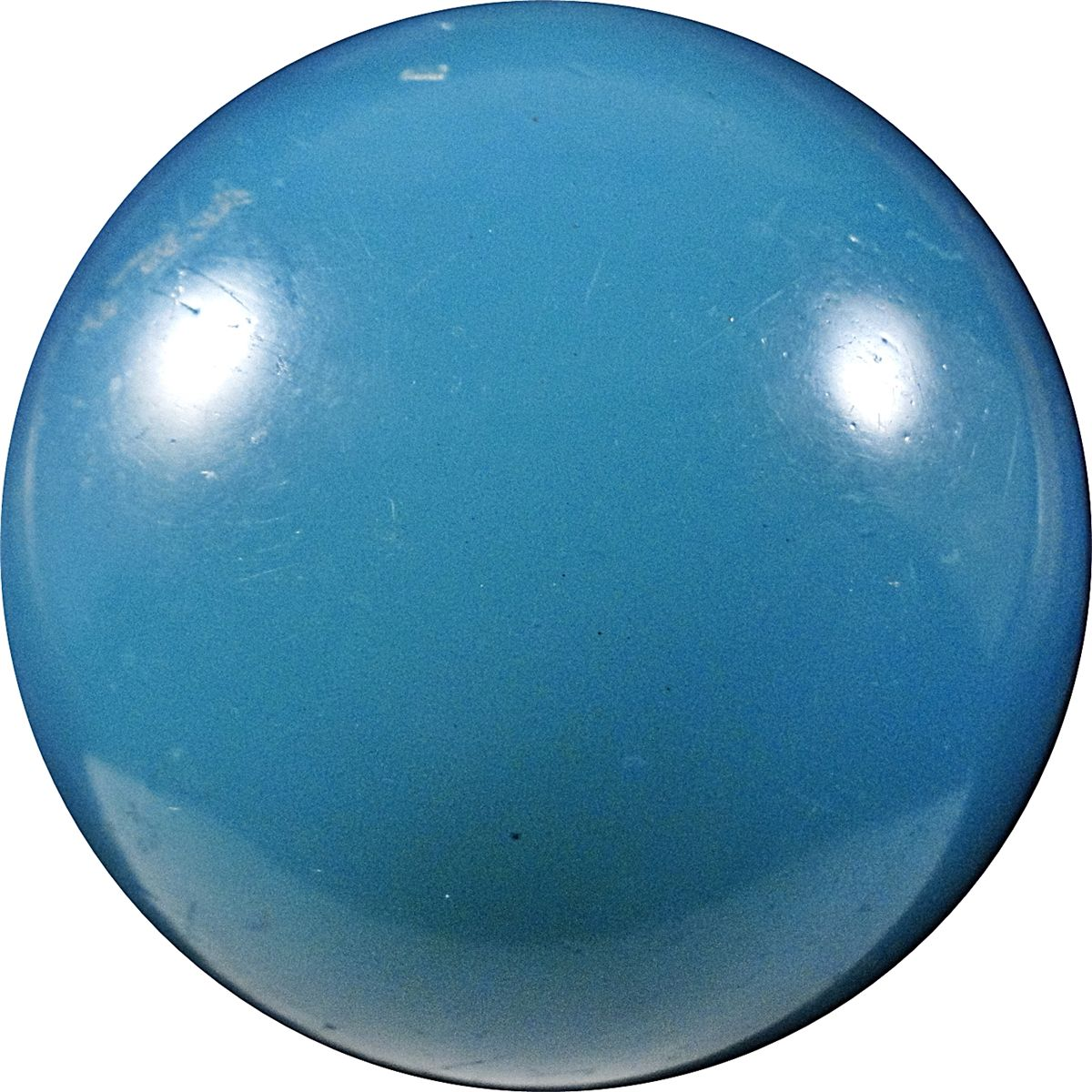 Pricing Collectible Marbles: Marbles: Lot #18. Opaque. Single Pontil Handgather. 2-3/16