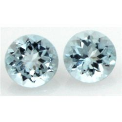 10mm GENUINE FACETED AAA - NATURAL AQUAMARINE
