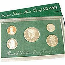 US Proof Set 1998