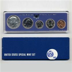 1967 US Coin Special Mint Set GEM Potential (COI-2367)