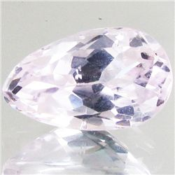 7.15ct Blush Pink Kunzite Pear (GEM-42977)