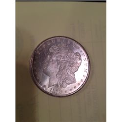 1878-CC MS-63 MORGAN SILVER DOLLAR FROM ORIGINAL ROLL