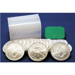 Lot of 20 Silver Eagles