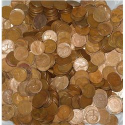 300 Wheat Cents