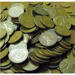 400 Wheat Cents