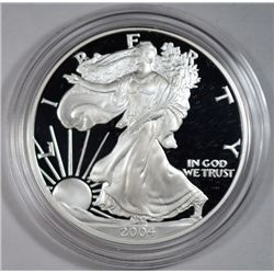 2004 proof silver Eagle all original packaging est $85-$95