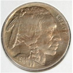 1914 BUFFALO NICKEL GEM BU