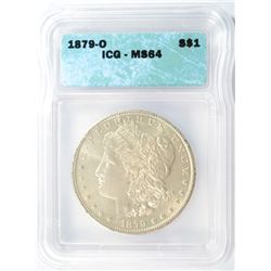 1879-O MORGAN DOLLAR ICG MS-64