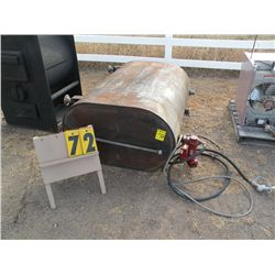 Fuel barrel w/electric pump
