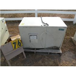 Geo source heat pump