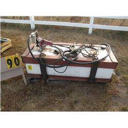 Fuel tank w/12 volt pump