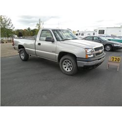 2005 Chev 1500 4x4- Salvage Title, Inspection Done 1GCEK14V35Z337468
