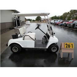 1993 Club Car electric golf car A9343357727