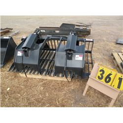 "Stout 72"" rock grapple -new"