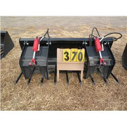 "Twin cylinder 72"" grapple bucket -new"