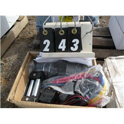 3,000lb ATV / UTV winch kits