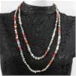 "Genuine Freshwater Pearl Necklace 74""!  New!"