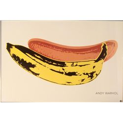 Andy Warhol : Banana, 1966 Art Print