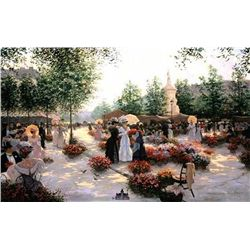 Christa Kieffer - April in Paris Lithograph