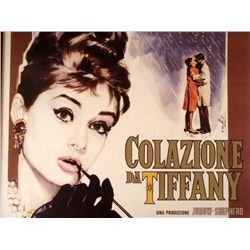 Colazione da Tiffany Movie Poster Le Parisien Art Print
