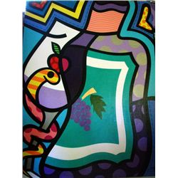 Jozza Original Large Painting On Canvas Favorite Feast