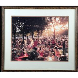 Photograph of Ravinia Music Festival -Vintage, Framed