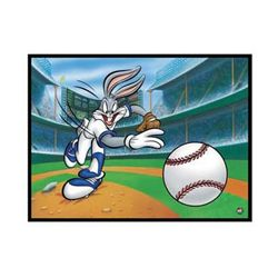 Looney Tunes Art Fastball Bugs Giclee Original