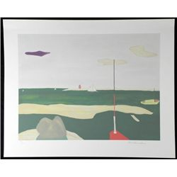 McClanahan Signed and Numbered Boats Art Print