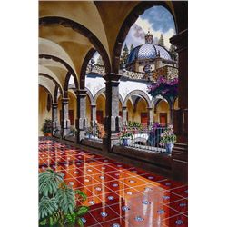 Medina FIRST LIGHT OF DAY Realistic Signed LE Art Print