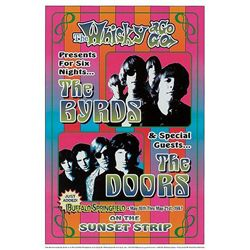 Whisky-A-Go-Go 67 Repro Rock Concert Poster Doors Byrds