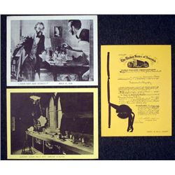 Three Vintage Prints- Alexander Graham Bell 1876