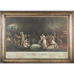 Rembrandt Peale The Court of Death Art Print