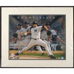 Signed Joba Chamberlain Photograph New York Yankees