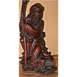 People Republic of China root or burl wood carving 9