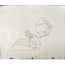 Popeye Original Animation Superhuman Strength Drawing
