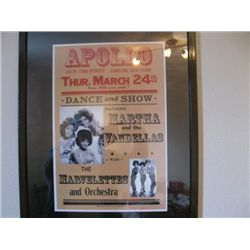 Martha and the Vandellas March 24th at the Apollo