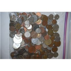 World Coins & Tokens; Various Dates, Conditions & Denominations; Lot of 250; EST. $25-50