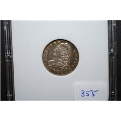 1834 US Capped Bust Dime; MCPCG Graded AU50; EST. $450-750